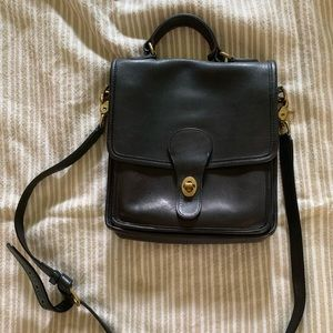 Vintage coach cross body